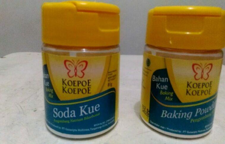Perbedaan Soda Kue, Baking Soda, Dan Baking Powder