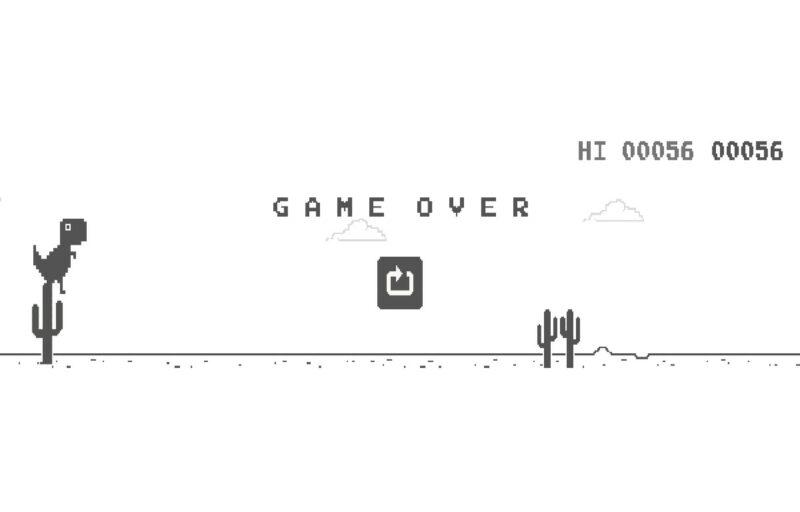 Game Dinosaurus Dari Google Chrome