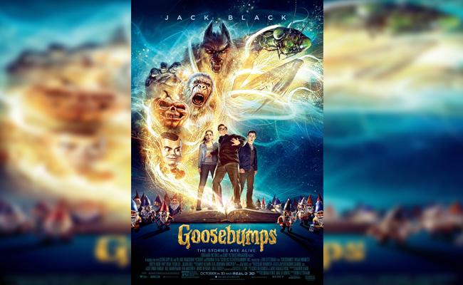 film tema halloween keluarga - Goosebumps 2015