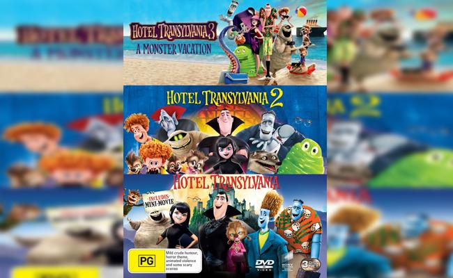Hotel Transylvania 1 2 Dan 3