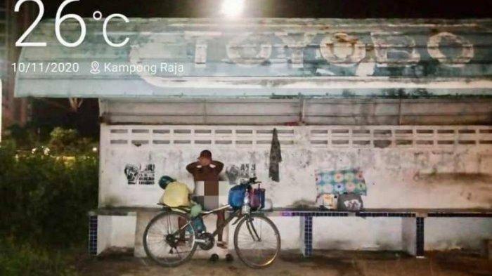 Kisah Pria Tinggal Di Halte Bus Dan Menolak Warisan Rumah Keluarga
