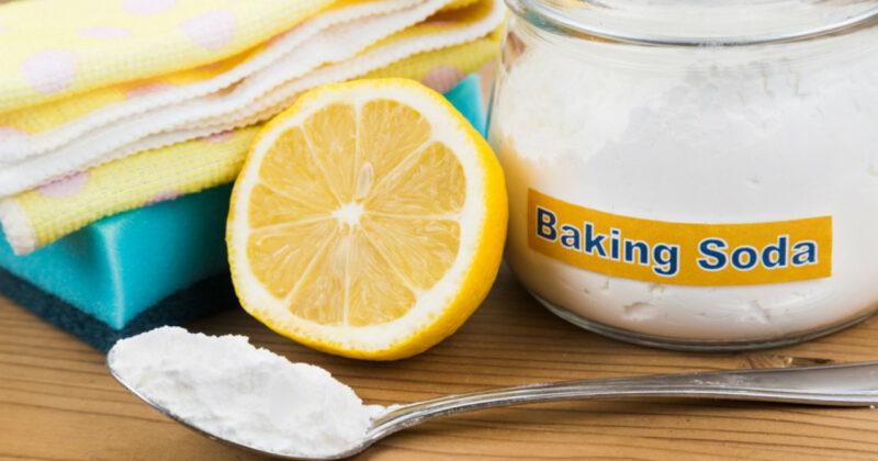 Menghilangkan Karat Pada Besi Dengan Baking Soda Dan Lemon