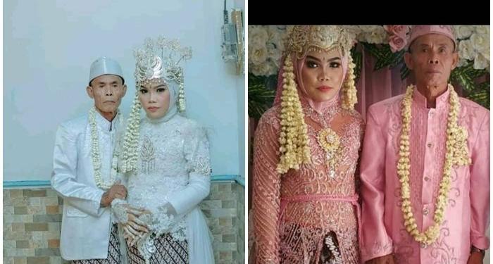 Pernikahan Kakek Dengan Gadis Muda