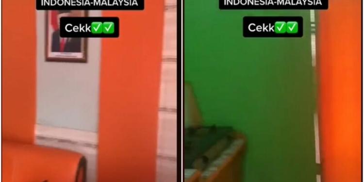 Rumah Unik Viral Perbatasan Indonesia Dan Malaysia