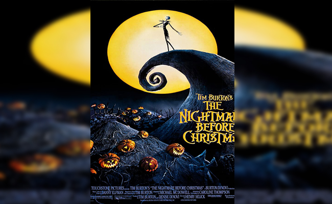 film tema halloween keluarga - The Nightmare Before Christmas 1993