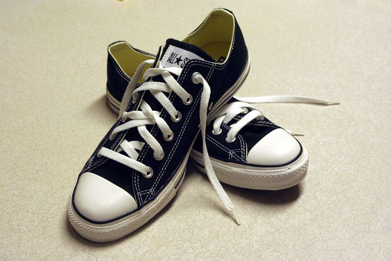 1200px Black Converse Sneakers