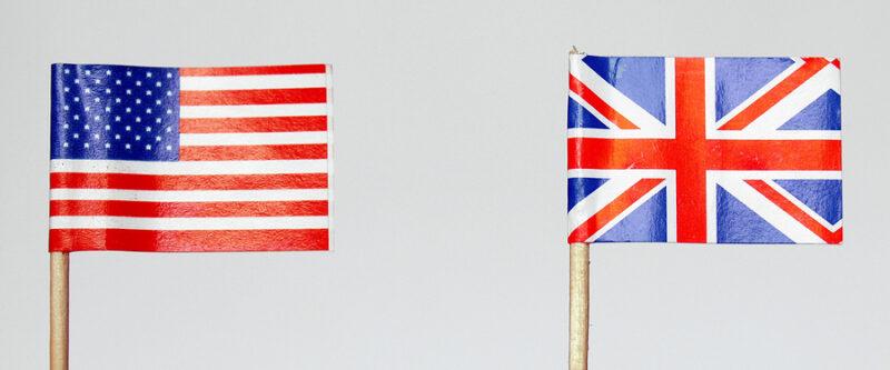 Perbedaan sebutan benda bahasa Inggris Amerika british