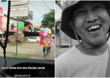 Kisah Bapak Magister Tinggalkan Pekerjaan Untuk Jadi Penjual Balon