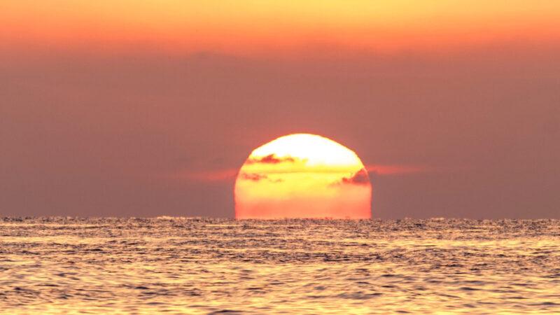 Langit Pagi Dan Sore Hari