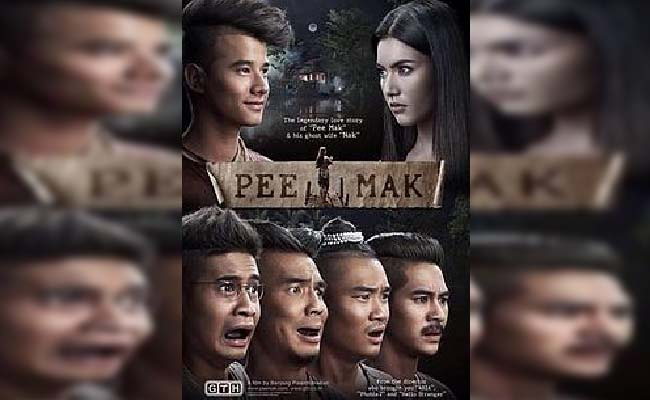 Film Comedy Horror Thailand Pee Mak 2013