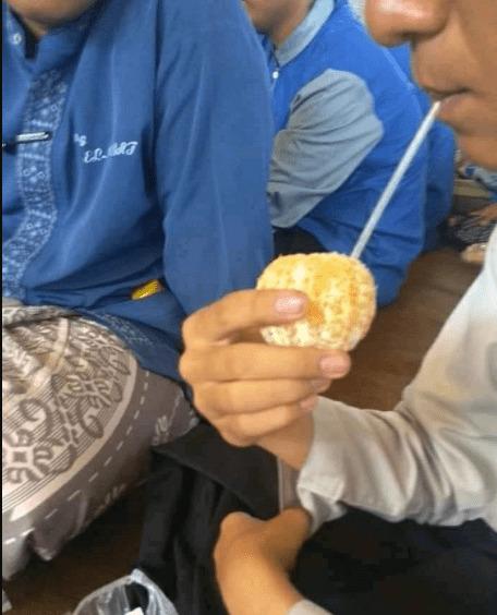 minum jeruk