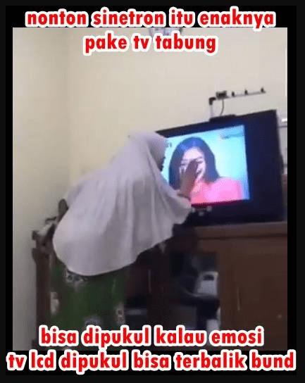TV tabung tahan banting
