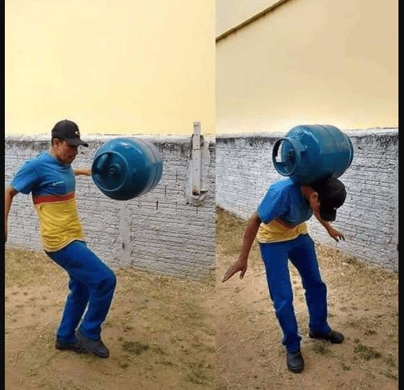jugling pake gas lpg