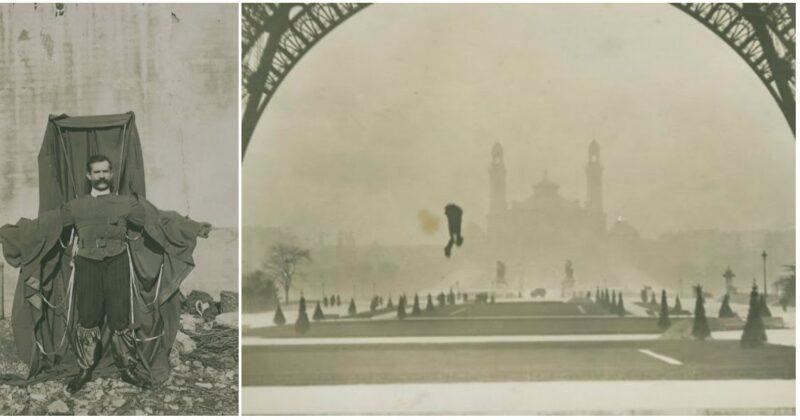 Eksperimen Gila Si 'penjahit Terbang' Yang Melompat Dari Menara Eiffel