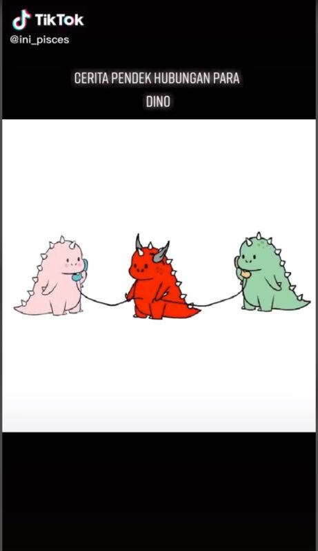 Fakta Menarik Kemunculan Dino Merah Di Tiktok