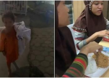 Kisah Inspiratif Wanita Traktir 4 Bocah Pemulung Makan Di Resto