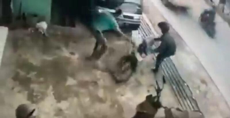 Sepeda Motor Mabok