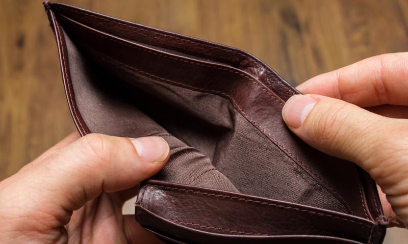 Empty Wallet 34786917