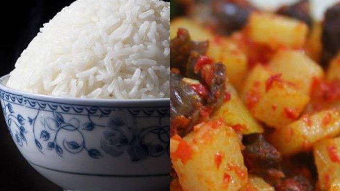 Jangan Lagi Makan Nasi Bersamaan Dengan Kentang Balado