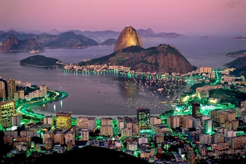 Rio De Janeiro Harbor Sea Ocean 126140