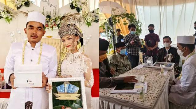 Viral Pernikahan Dengan Mahar Ikan Cupang