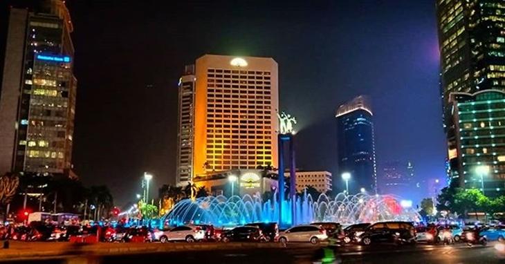 Tempat Pemandangan malam DKI Jakarta