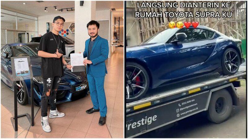 Crazy Rich Medan Iseng Lagi, Kali Ini Beli Supra Seharga 2 Miliar