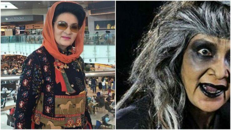 Farida Pasha Pemeran 'mak Lampir' Di Serial Misteri Gunung Merapi Meninggal Dunia