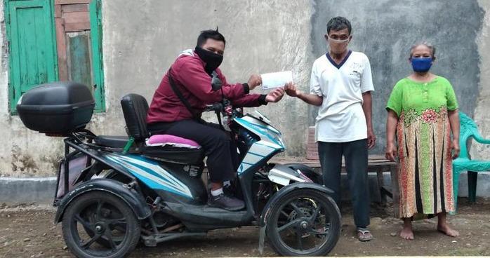 Kakek Penjual Jamu Yang Ditipu Rp 100 Ribu, Netizen Donasi Rp 1,4 Juta