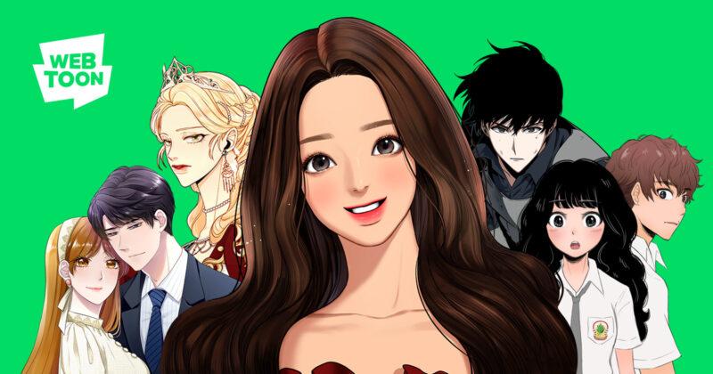 Aplikasi baca manga Line Webtoon