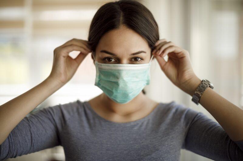 Mencegah Virus Corona Dengan Memakai Masker