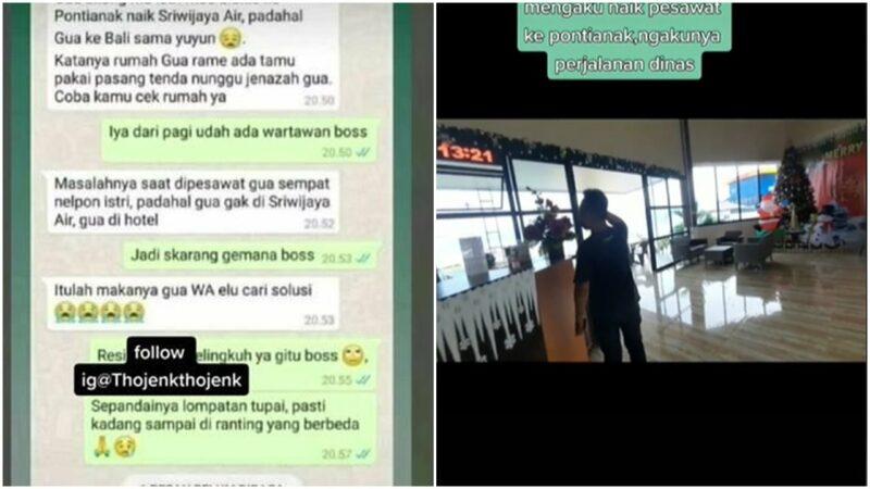 Ngaku Ke Pontianak Naik Sriwijaya Air, Ternyata Pergi Ke Bali Bersama Selingkuhan