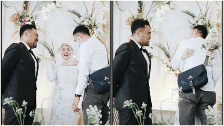 Pria Ini Datang Ke Pernikahan Mantannya, Diberi Pelukan Terakhir, Respon Suaminya Tak Terduga