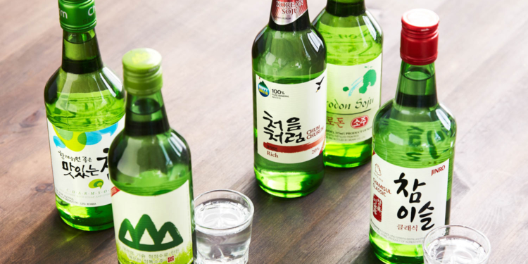 Minuman Soju Korea