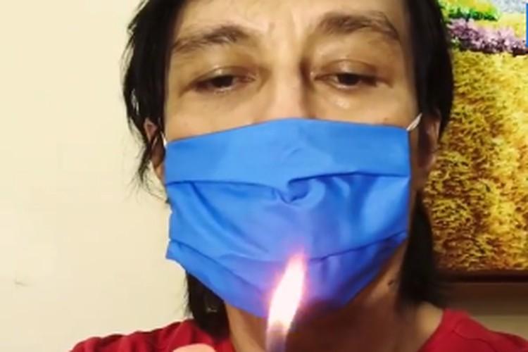 tes ketahanan masker COVID-19