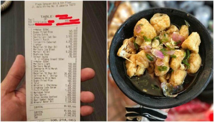 Ngeri! Belanja Nasi Dan Tahu Gejrot, Pria Ini Habiskan Uang Rp 106 Juta