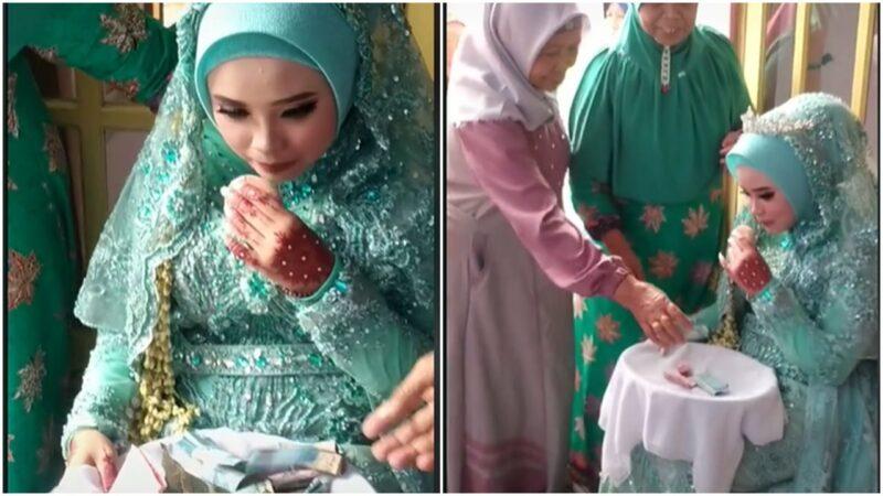Video Tradisi Ontalan Di Lumajang, Pengantin Wanita 'dilemparkan' Uang