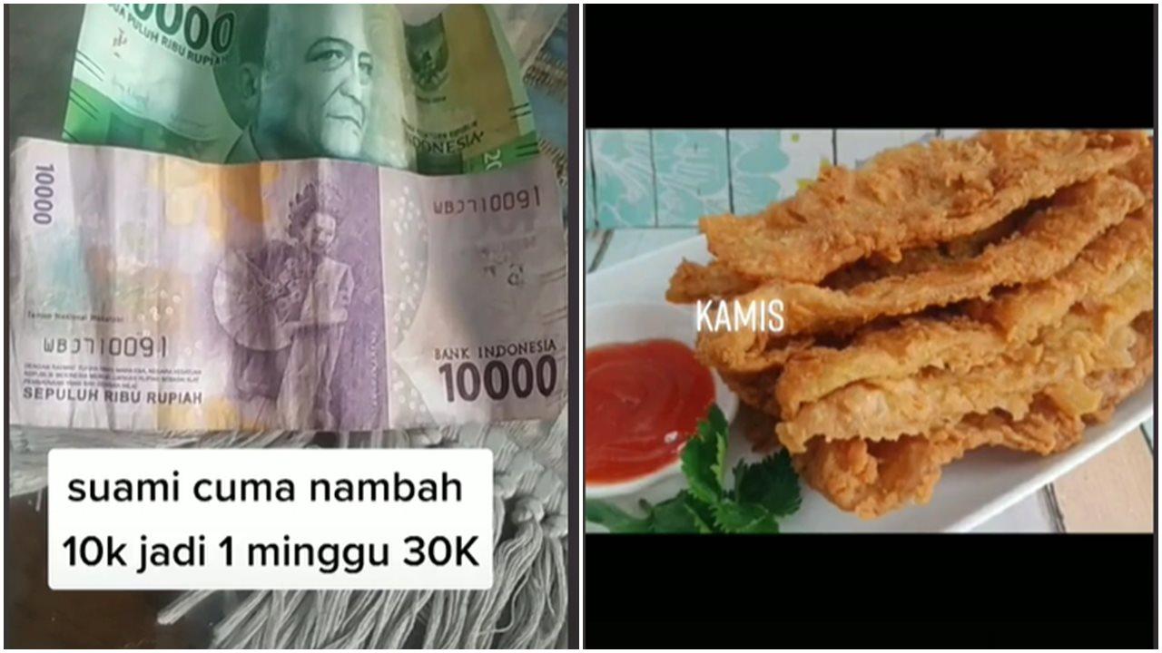 Viral Kisah Istri Yang Tetap Bersyukur Walau Uang Belanja Hanya Rp 30 Ribu Seminggu