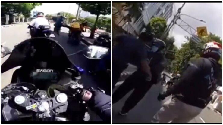 Viral Video Petugas Tendang Pengendara Moge Di Ring 1 Istana