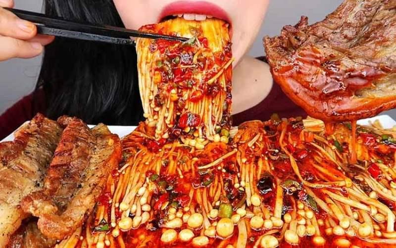 Makan pedas kanker usus