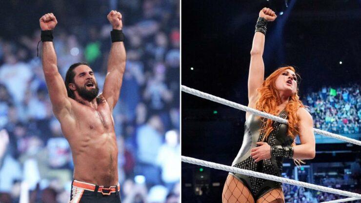 WWE suami istri Royal Rumble