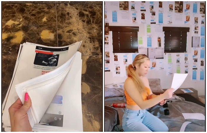 Dekor kamar pacarnya dengan bukti chat perselingkuhan