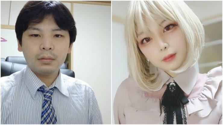 Hobi Cosplay Anime Wanita, Penampilan Pria Ini Kawaii Desune