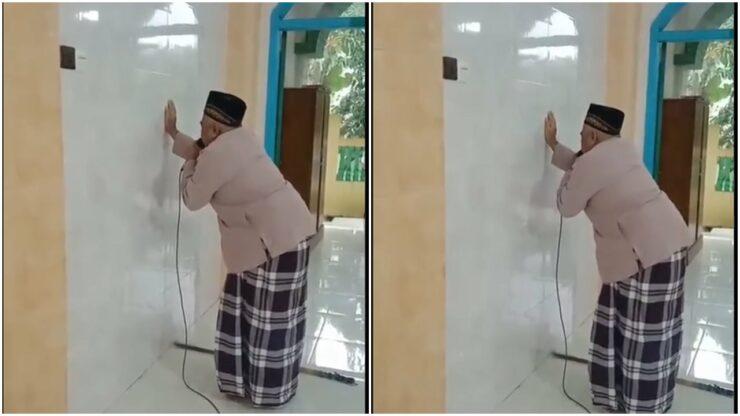 Kisah Kakek Mad Yang Tak Bisa Melihat, Namun Rajin Kumandangkan Adzan Di Masjid