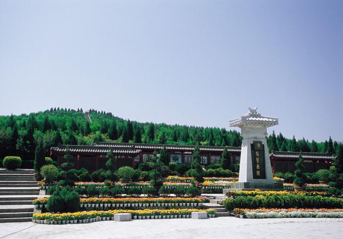 Makam kuno Mausoleum Qin Shi Huang