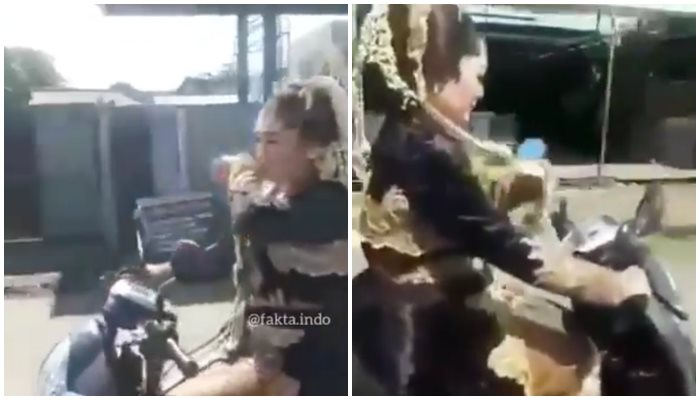 Mempelai Wanita Di Jalan