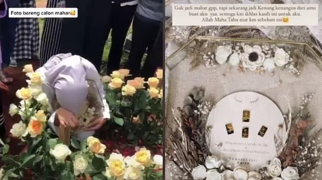 Menghadiri Pemakaman Dengan Penuh Haru