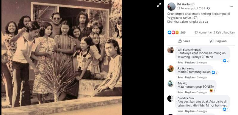 Potret Orang Indonesia Masa Dulu