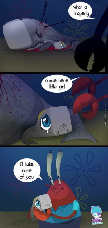 Tuan Krab Menemukan Pearl