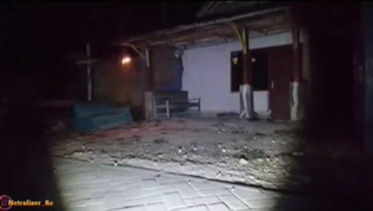 Viral Video Bola Api Melayang Layang Di Depan Rumah Warga, Bikin Merinding